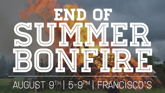 End of Summer Bonfire2017
